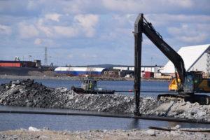 Intervjufilm om hamnprojektet